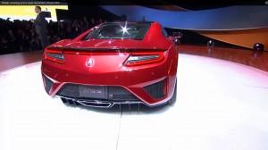 2016 Acura NSX World Premier 25