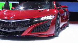 2016 Acura NSX World Premier 48