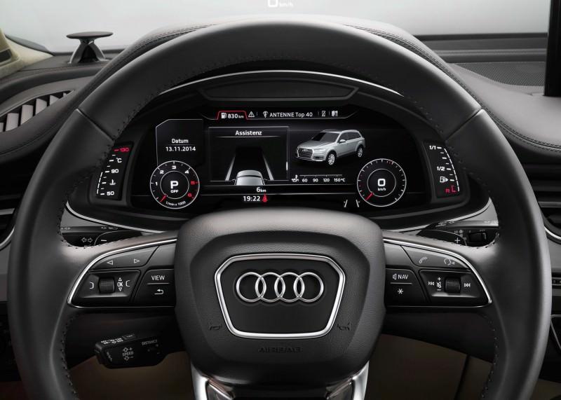 2016 Audi Q7 Cabin Tech 22