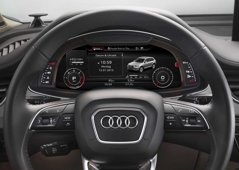 2016 Audi Q7 Cabin Tech 24