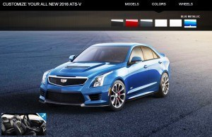 2016 Cadillac ATS-V - Colors and Wheels Preview 10