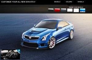 2016 Cadillac ATS-V - Colors and Wheels Preview 12