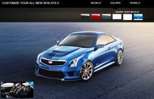 2016 Cadillac ATS-V - Colors and Wheels Preview 13