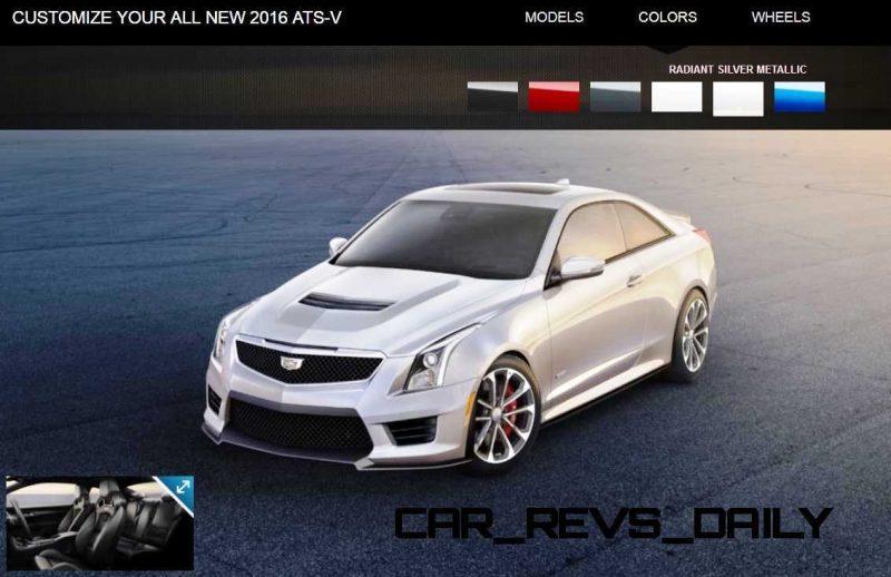 2016 Cadillac ATS-V - Colors and Wheels Preview 14