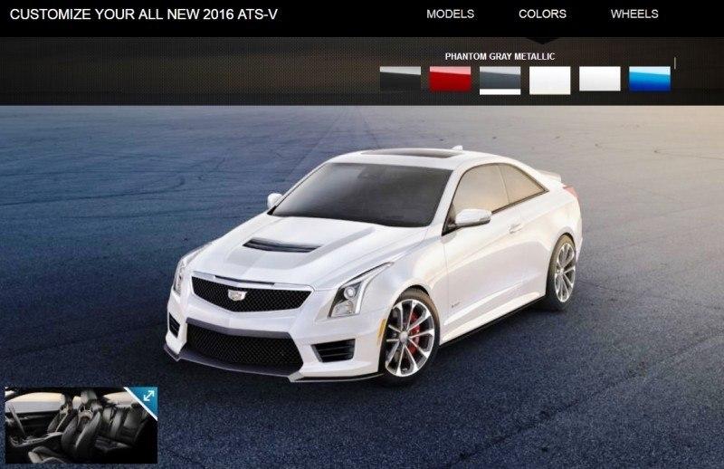 2016 Cadillac ATS-V - Colors and Wheels Preview 15