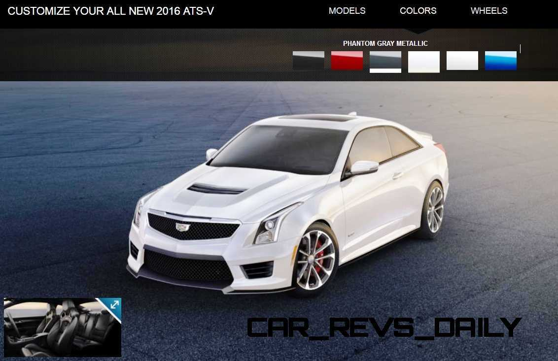 2016 Cadillac ATS V Colors
