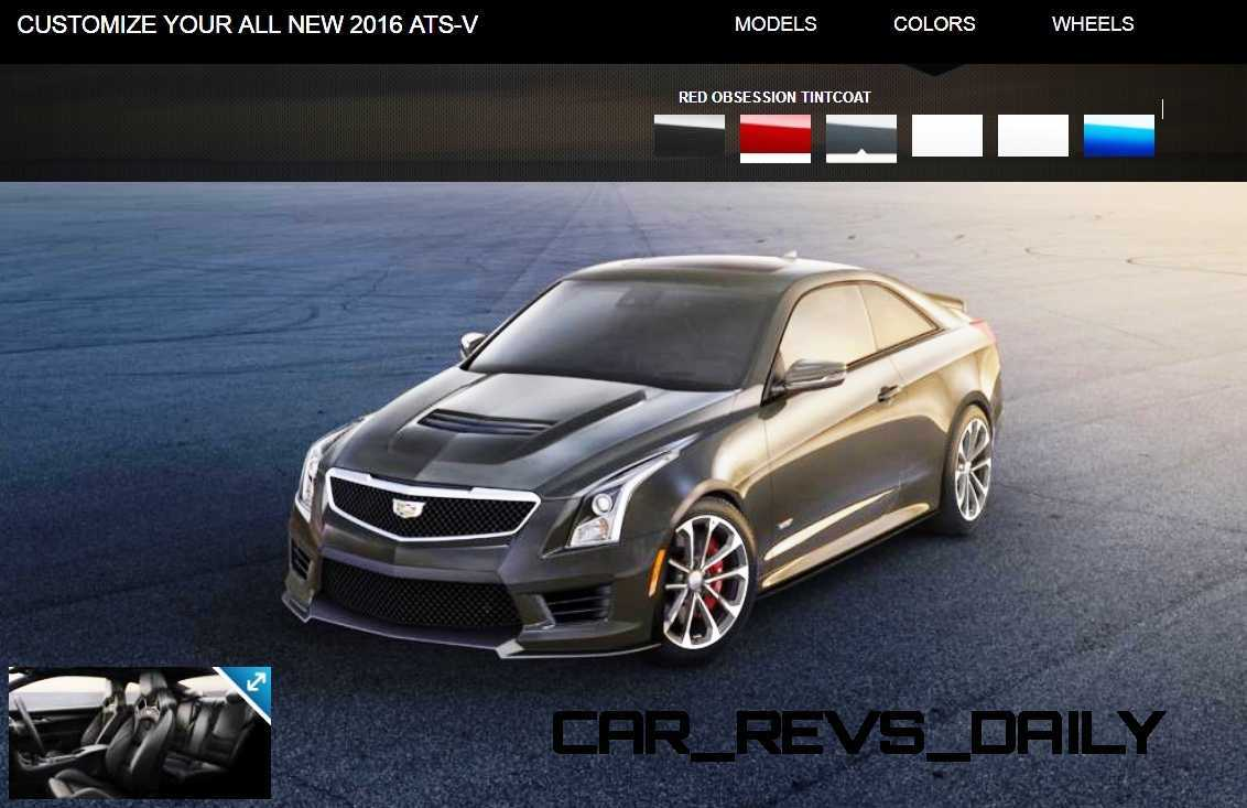 2016 Cadillac ATS-V - Colors and Wheels Preview 16