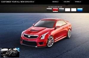 2016 Cadillac ATS-V - Colors and Wheels Preview 17
