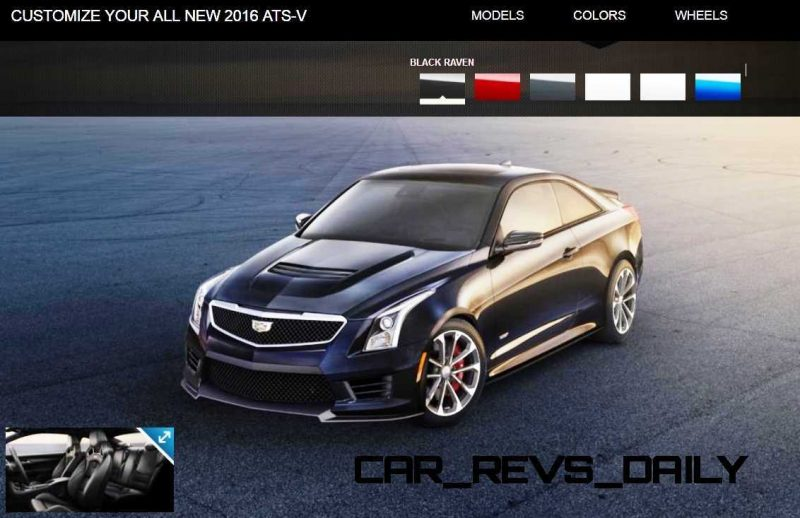 2016 Cadillac ATS-V - Colors and Wheels Preview 18