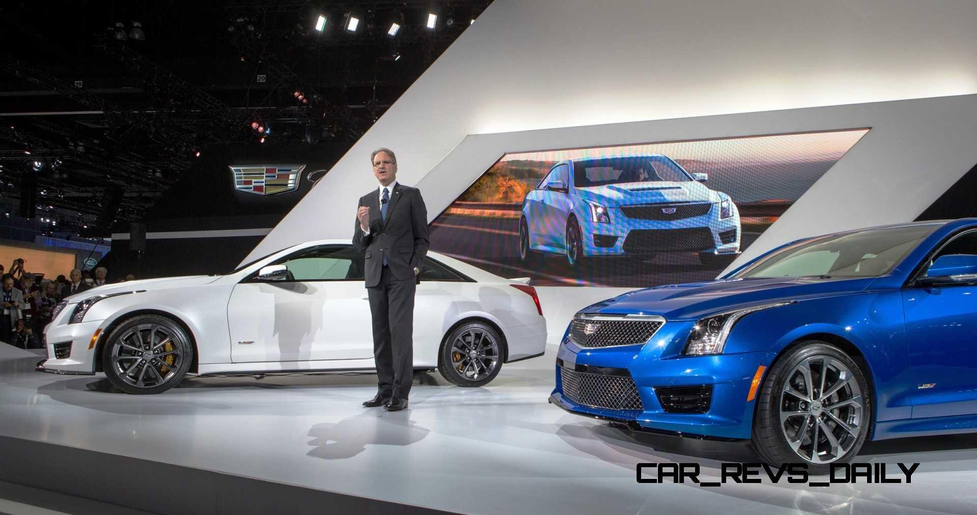 2016 Cadillac ATS-V Colors