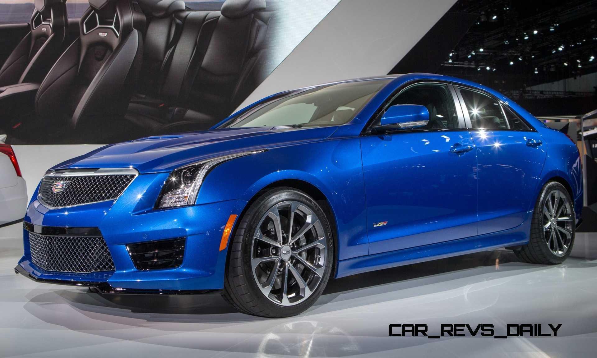 Cadillac Ats V Coupe >> 2016 Cadillac ATS-V Colors