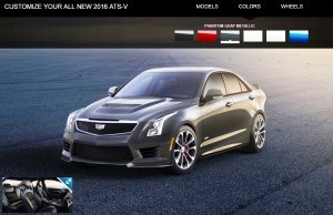 2016 Cadillac ATS-V - Colors and Wheels Preview 5