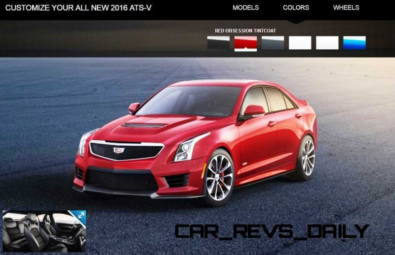 2016 Cadillac ATS-V - Colors and Wheels Preview 6