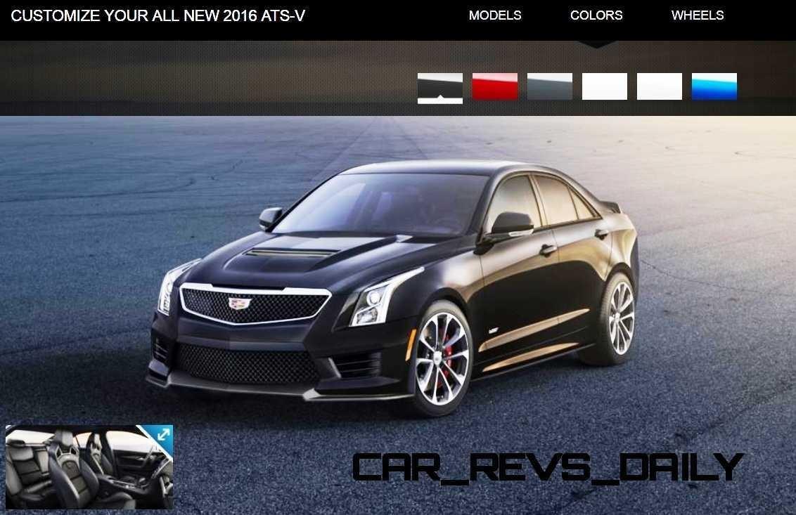 2016 Cadillac ATS-V - Colors and Wheels Preview 8