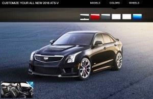 2016 Cadillac ATS-V - Colors and Wheels Preview 7
