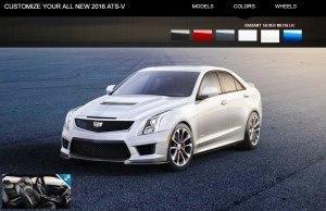 2016 Cadillac ATS-V - Colors and Wheels Preview 9