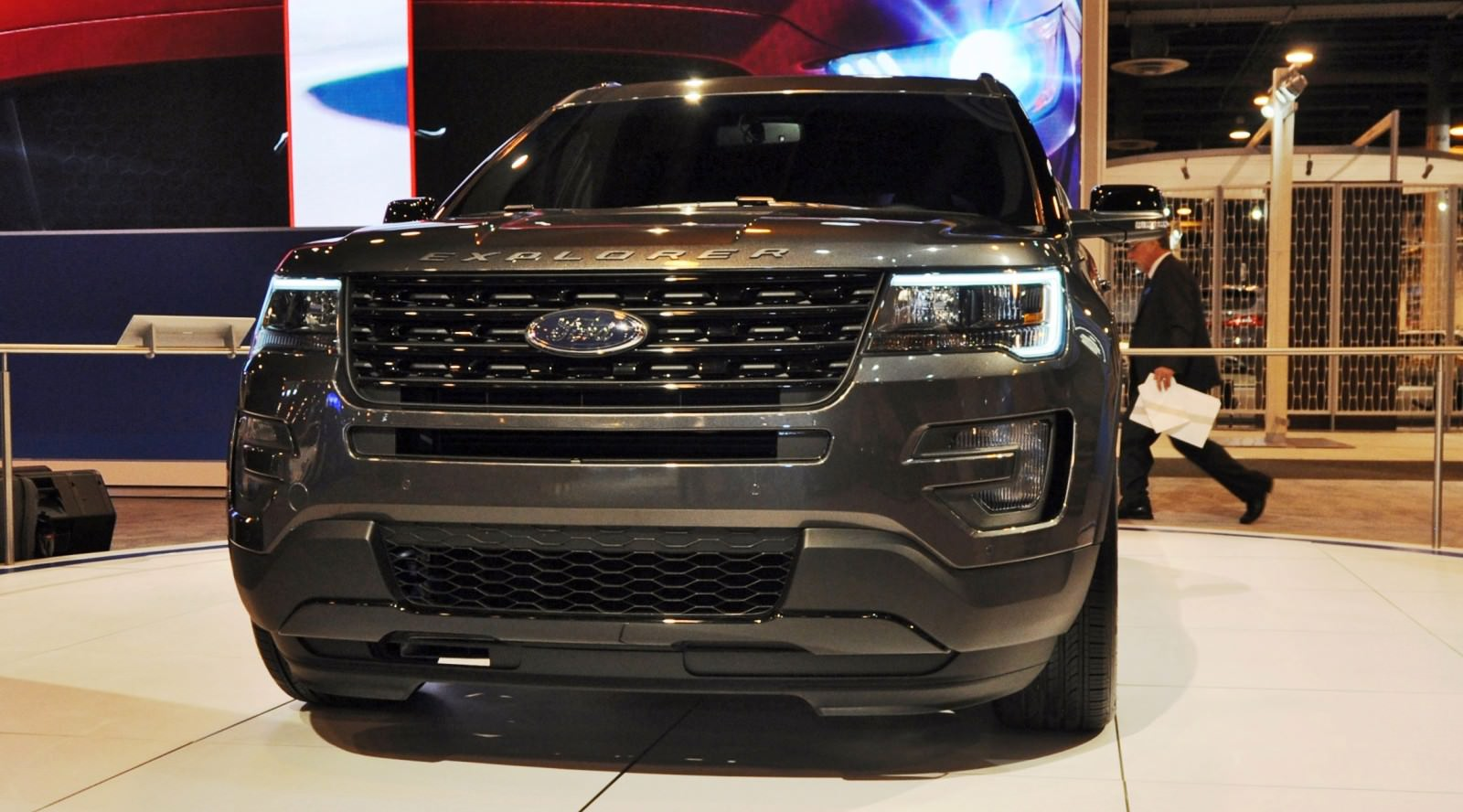 2016 ford explorer sport inside and out in 28 new photos from houston. Black Bedroom Furniture Sets. Home Design Ideas