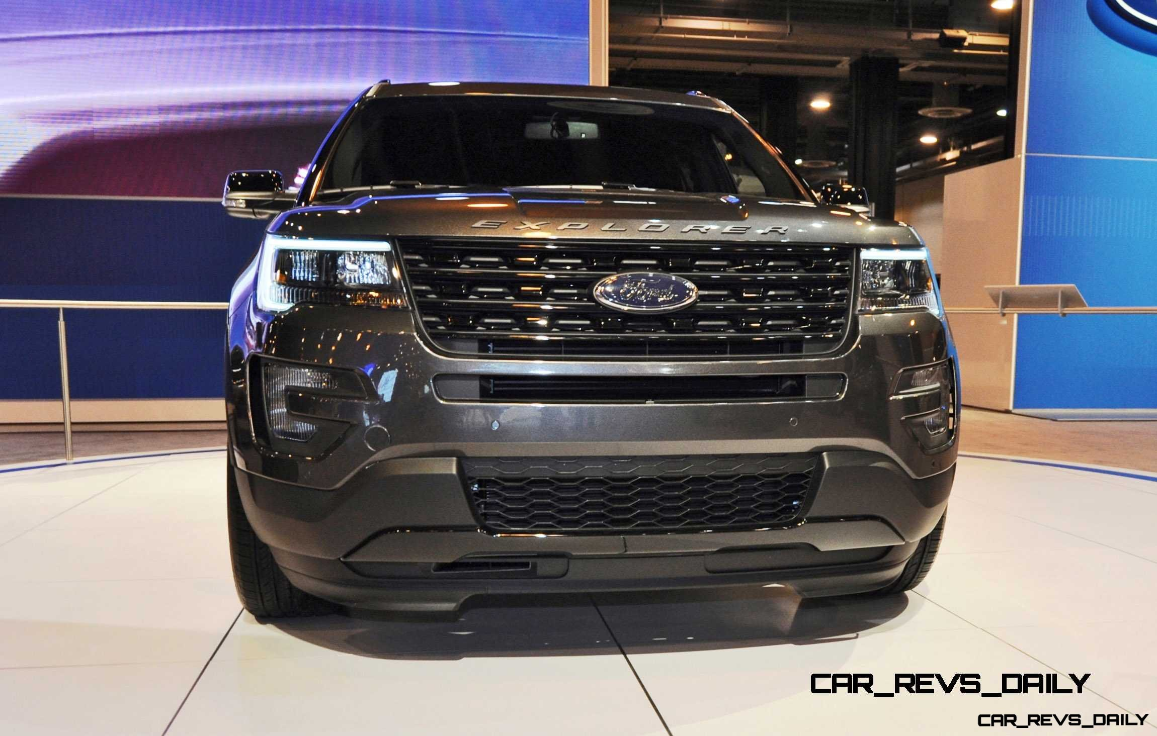 2016 Ford Explorer Sport Inside And Out In 28 New Photos From Houston