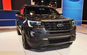 2016 Ford Explorer Sport 8
