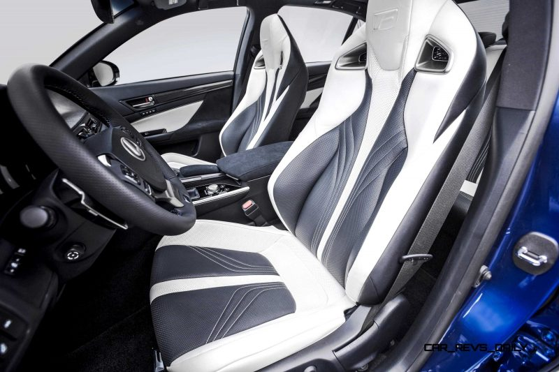 2016 Lexus GS F 19
