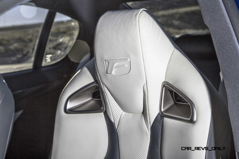 2016 Lexus GS F 21