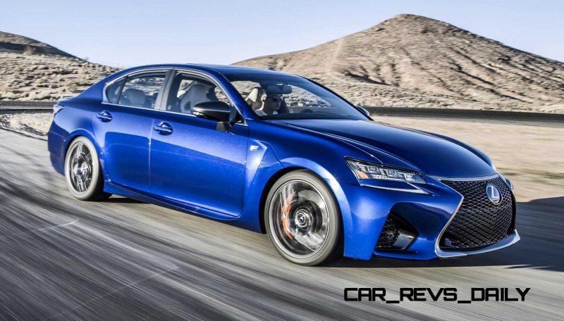 2016 Lexus GS F 32