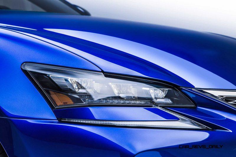 2016 Lexus GS F 8
