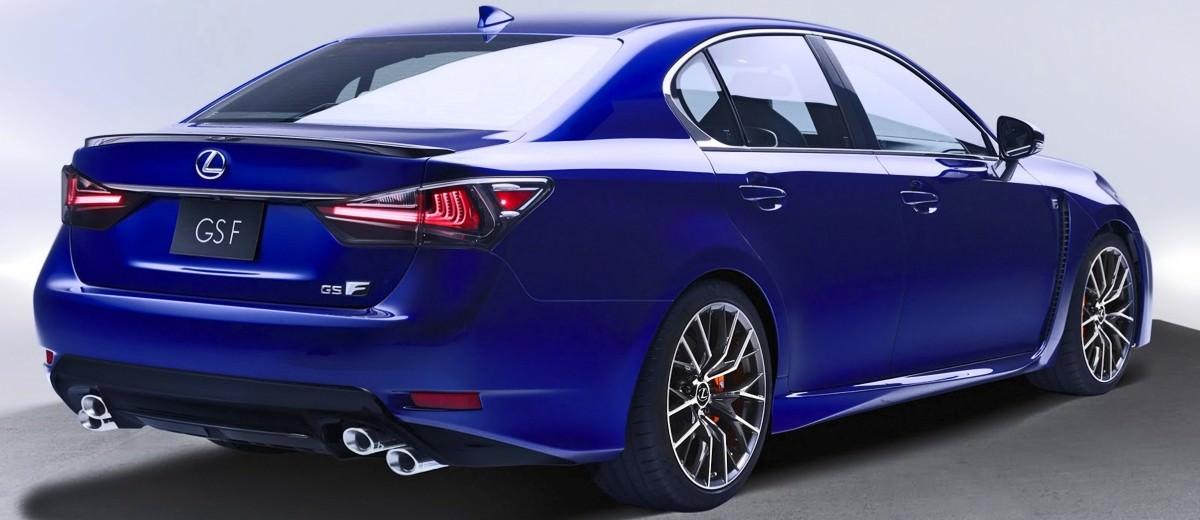 2016 Lexus GSF 8