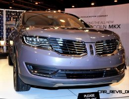 Houston Auto Show – 2016 Lincoln MKX Really Impresses in 27 New, High-Res Photos