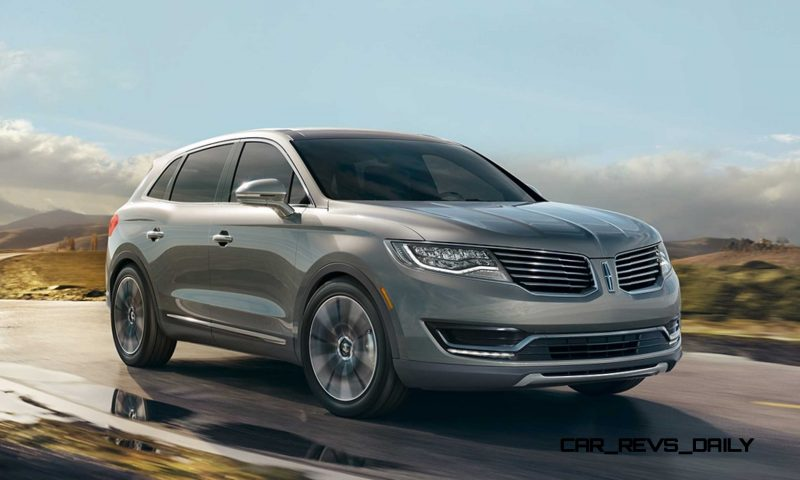 2016 Lincoln MKX 2.7L EcoBoost 16