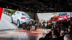 Mercedes-Benz New Year's Reception 2015 in Detroit