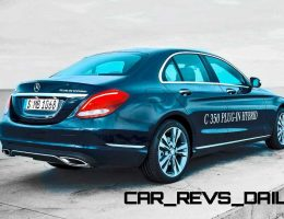 5.9s 2016 Mercedes-Benz C350 Plug-In Hybrid Coming Fall 2015