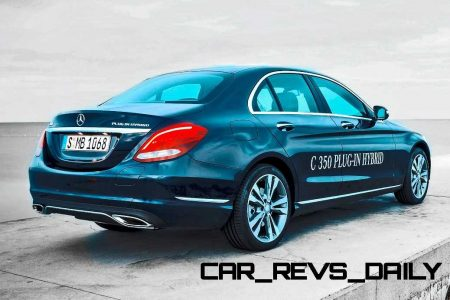 5 9s 2016 Mercedes Benz C350 Plug In Hybrid Coming Fall 2017