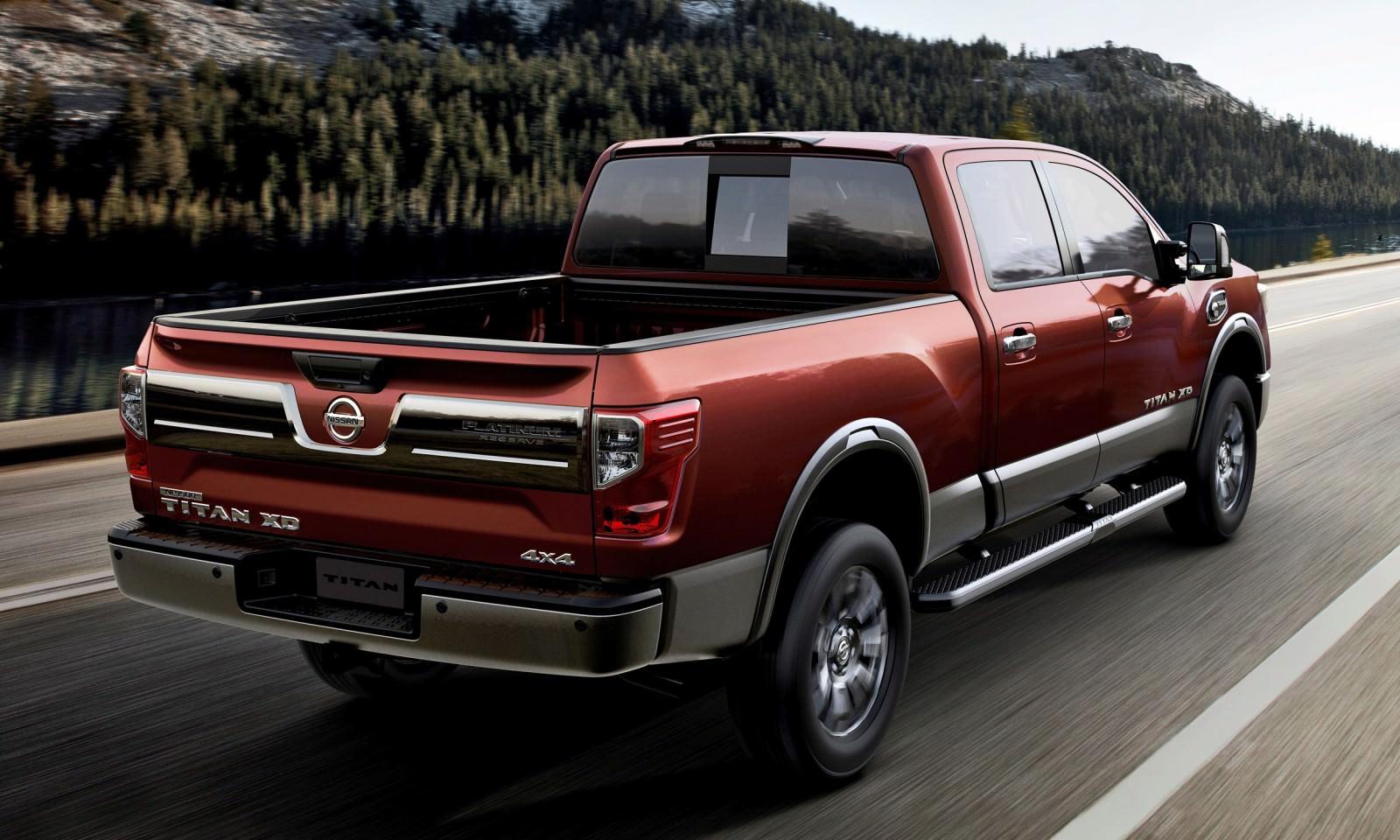 2016 nissan titan xd infographic back production model not sh car revs. Black Bedroom Furniture Sets. Home Design Ideas