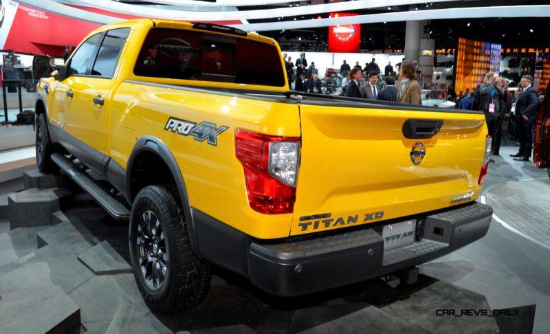 2016 Nissan TITAN XD 5
