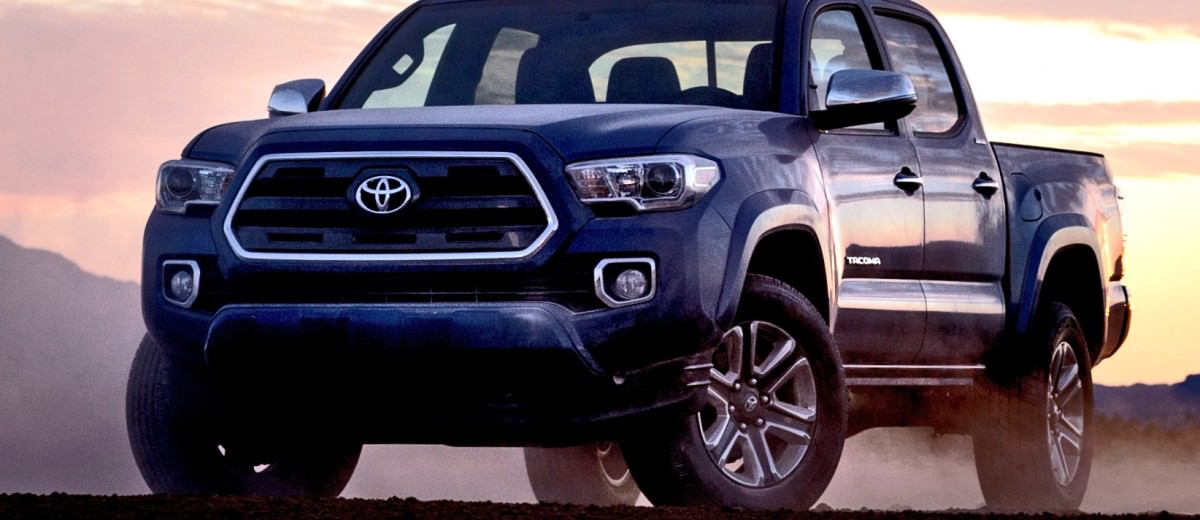 When the dust settles, the all-new 2016 #Tacoma stands alone
