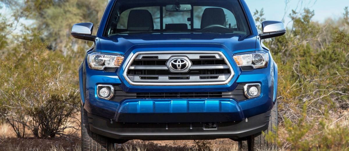 2016 Toyota Tacoma Limited 16