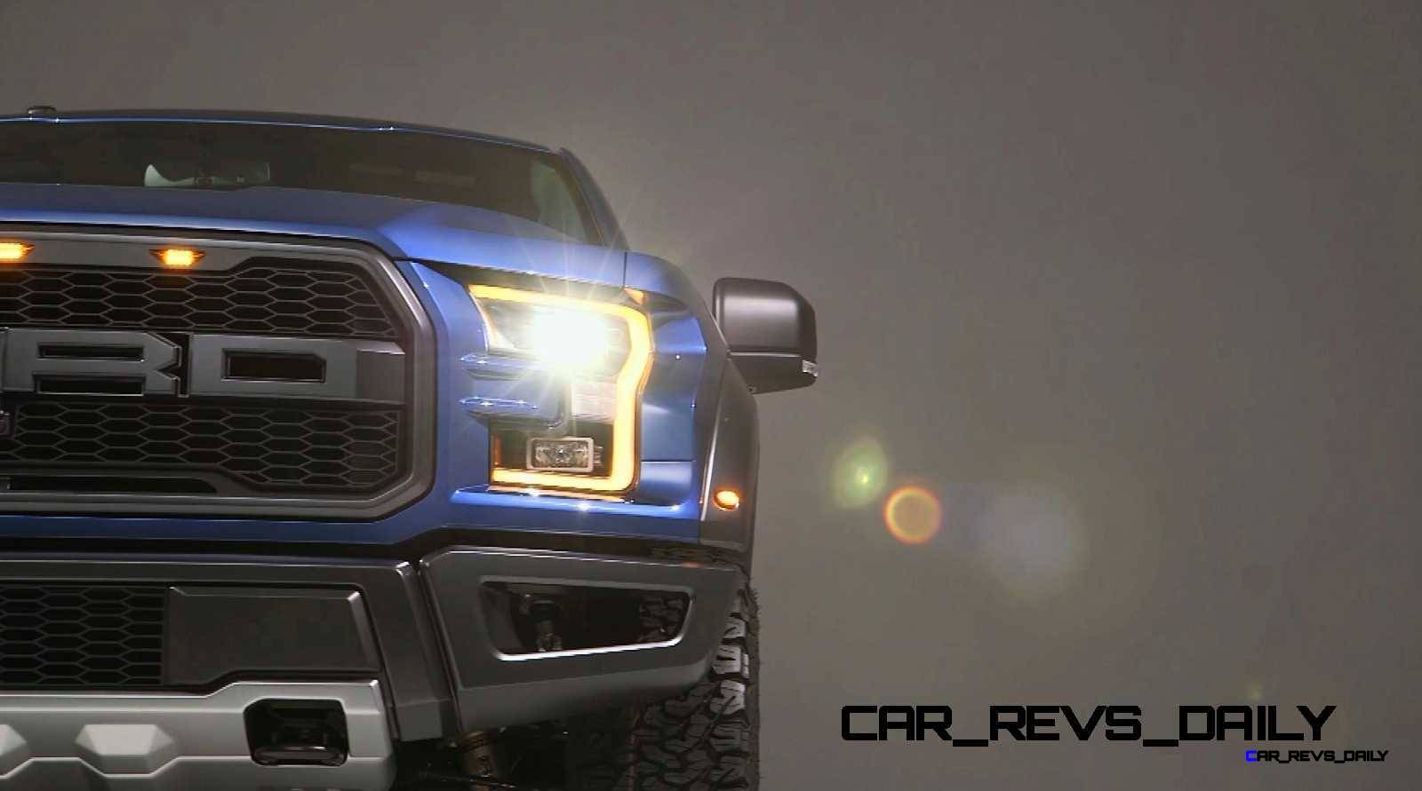2017 Ford F-150 RAPTOR Studio Stills 1