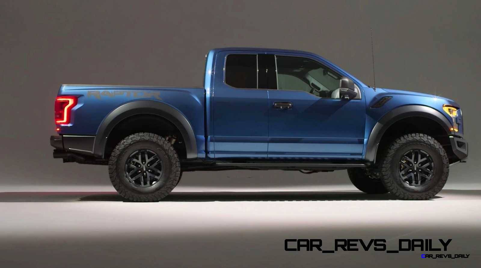 2017 Ford F-150 RAPTOR Studio Stills 12