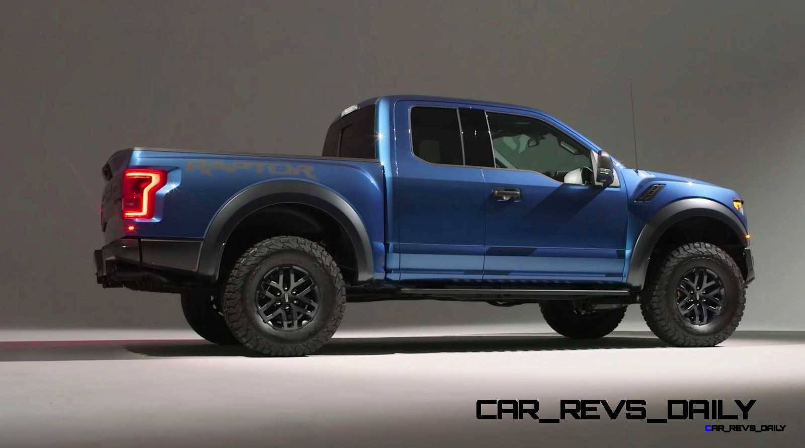 2017 Ford F-150 RAPTOR Studio Stills 14