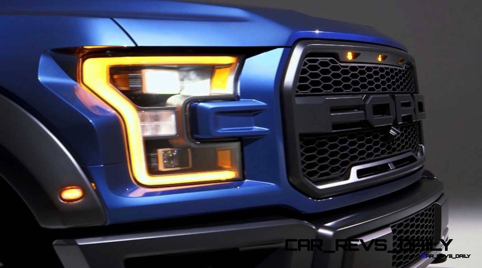 2017 Ford F-150 RAPTOR Studio Stills 30