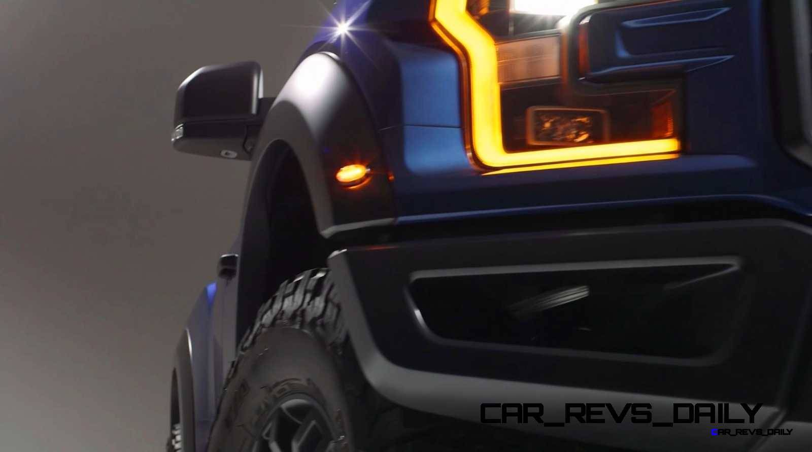2017 Ford F-150 RAPTOR Studio Stills 34