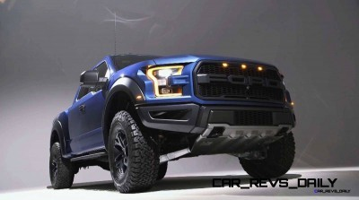 2017 Ford F-150 RAPTOR Studio Stills 42