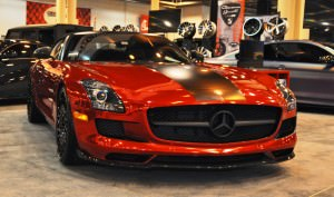 AMG SLS Roadster by IKON Wraps 1