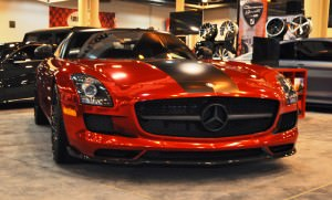 AMG SLS Roadster by IKON Wraps 11