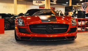AMG SLS Roadster by IKON Wraps 14