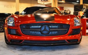 AMG SLS Roadster by IKON Wraps 15