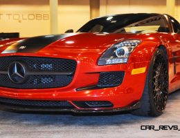 Houston Tuner Highlights – AMG SLS Roadster by IKON Wraps