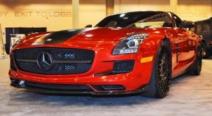 AMG SLS Roadster by IKON Wraps 19