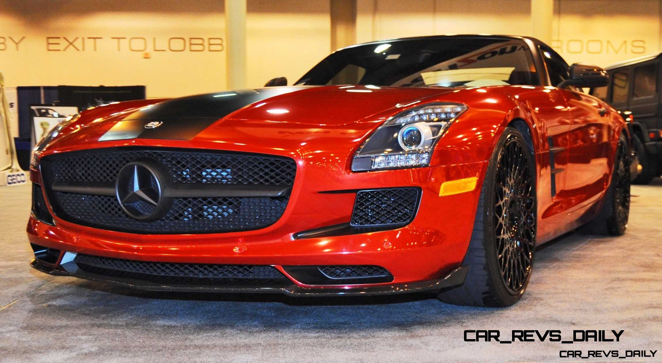 AMG SLS Roadster by IKON Wraps 19